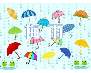 梅雨・・・